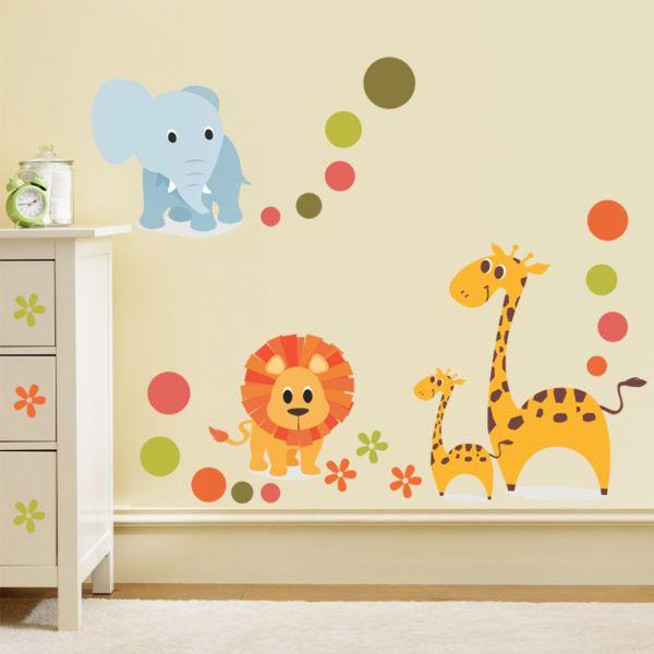 Sticker decorativ Mica Jungla - 120 x 73 cm imagine