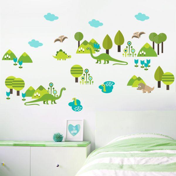 Sticker decorativ O Lume Minunata - 120 x 70 cm imagine