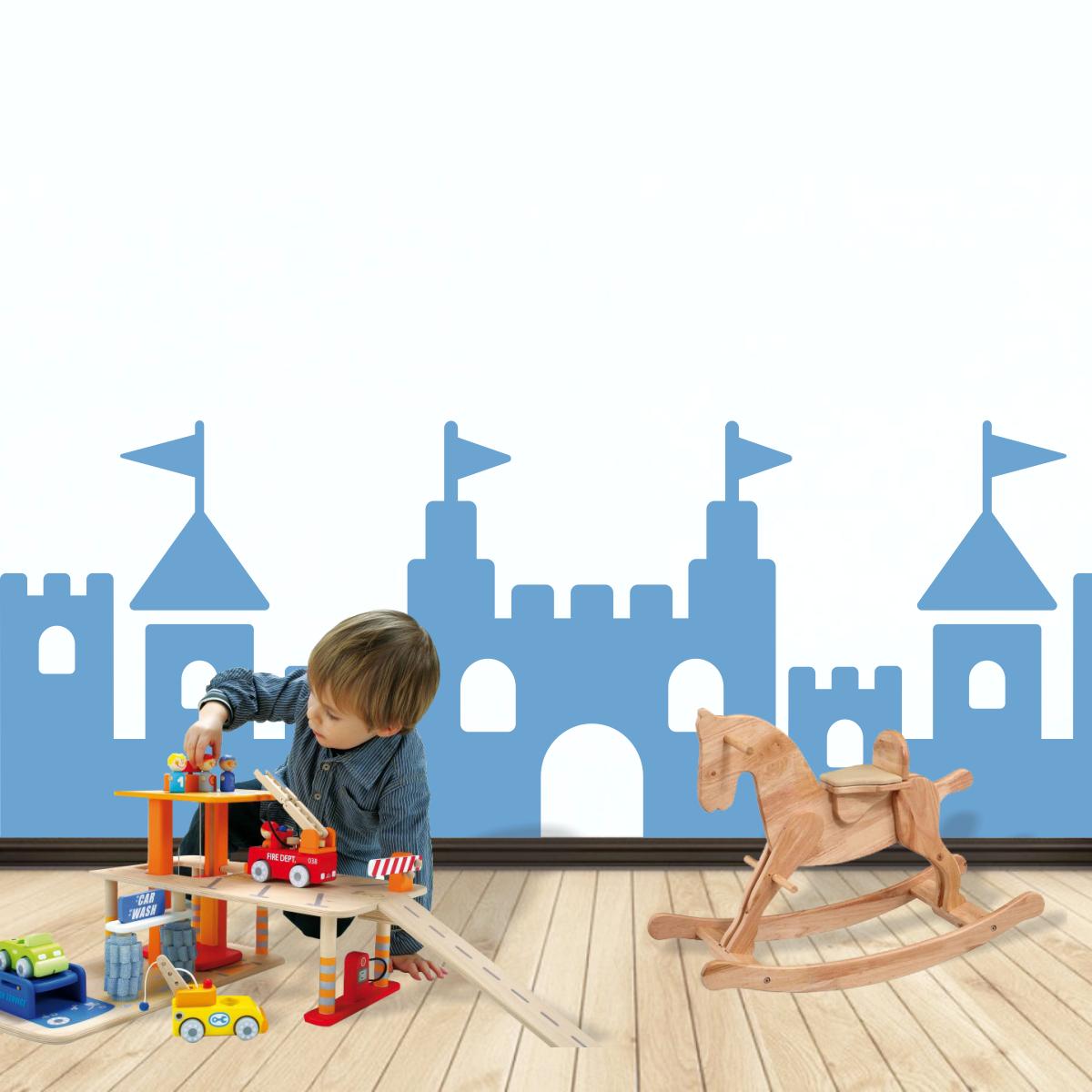 Stickere perete copii Fortress - 290 x 100 cm imagine