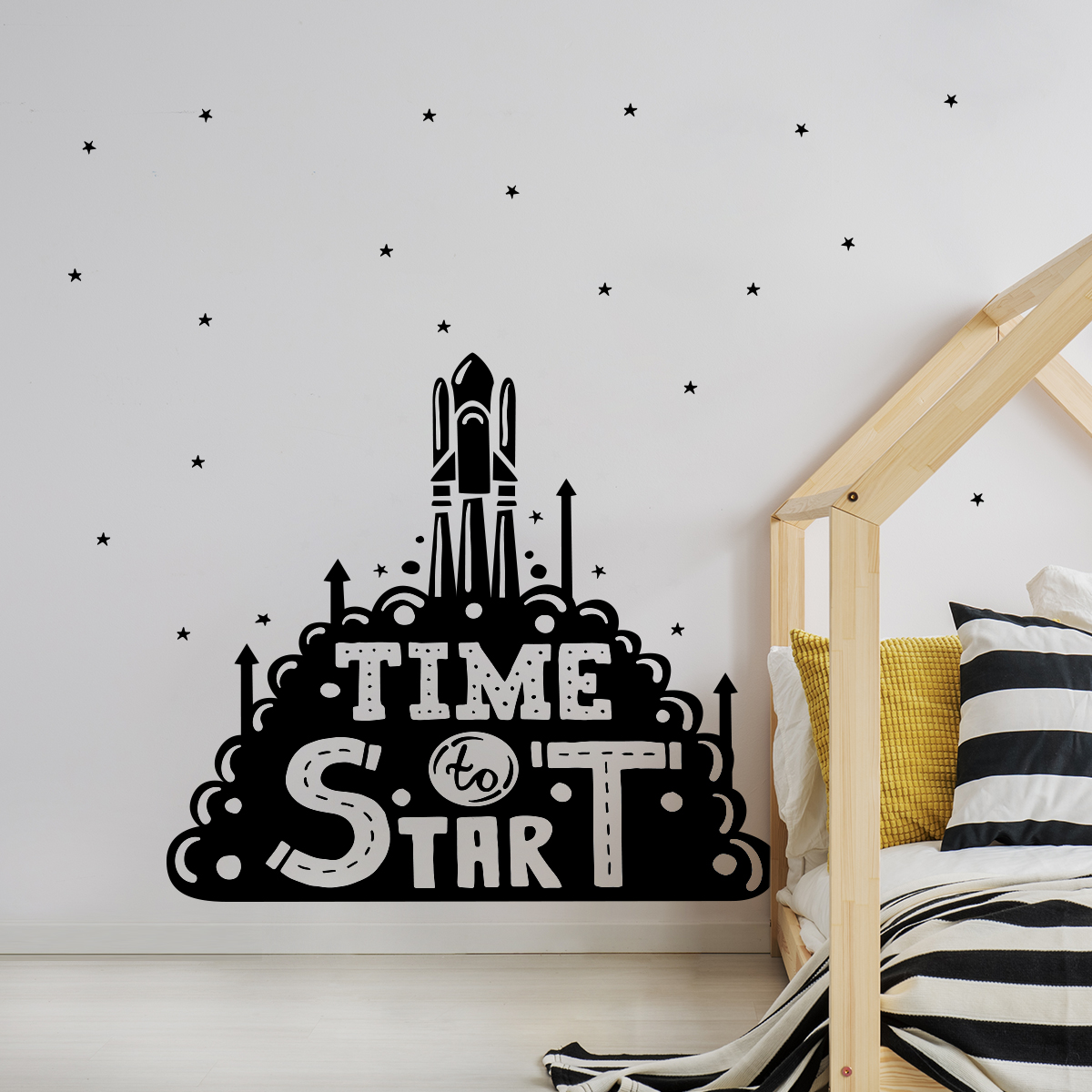 Stickere perete copii Start - 80 x 76 cm imagine
