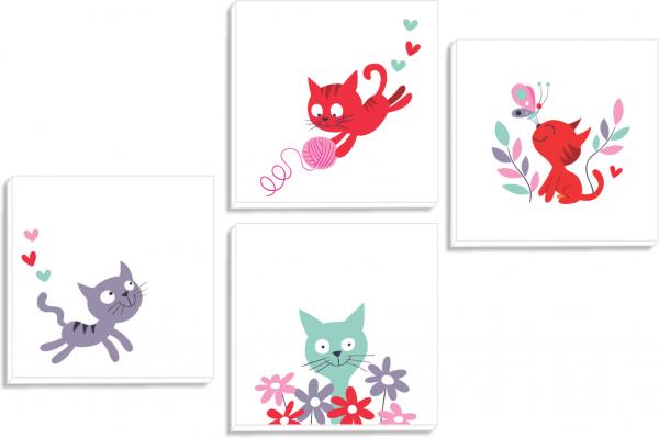 Set tablouri canvas Kittens imagine
