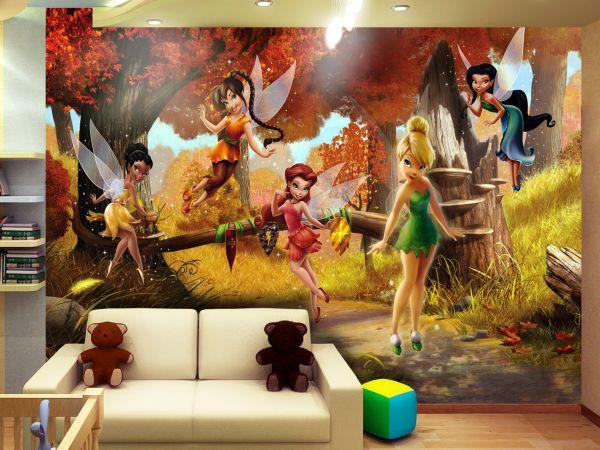 Fototapet Disney Clopotica si zanele - 360 x 270 cm imagine