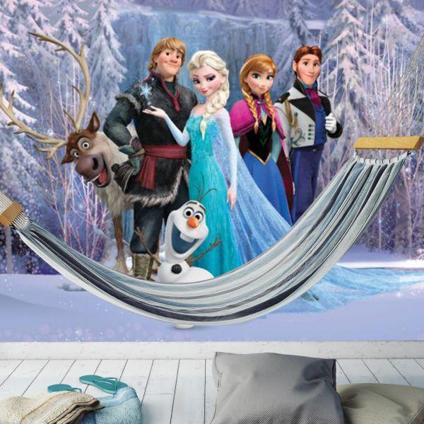 Fototapet Disney Frozen Elsa in padure - 180 x 202 cm imagine