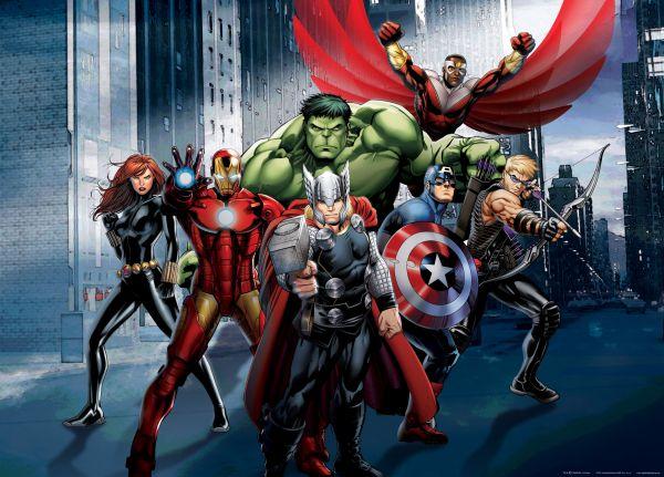 Fototapet Disney Marvel Avengers - 160 x 115 cm imagine
