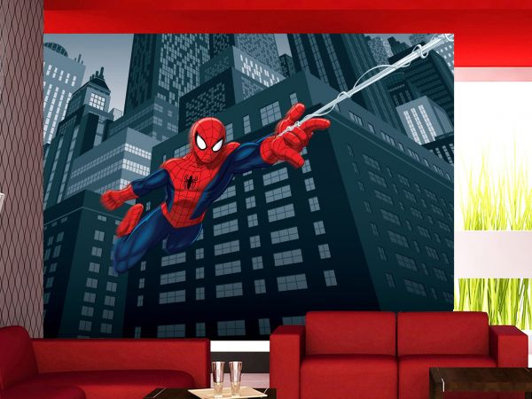 Fototapet Disney Spiderman in actiune - 360 x 270 cm