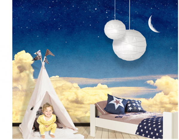 Fototapet Dreams On the Clouds - 240 x 160 cm imagine