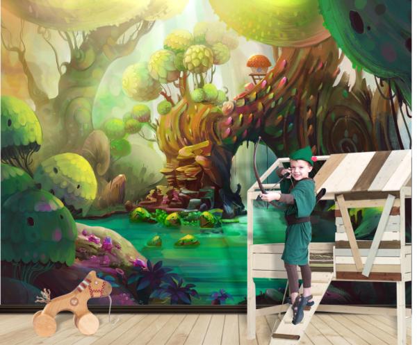 Fototapet Magic Forest - 375 x 250 cm imagine