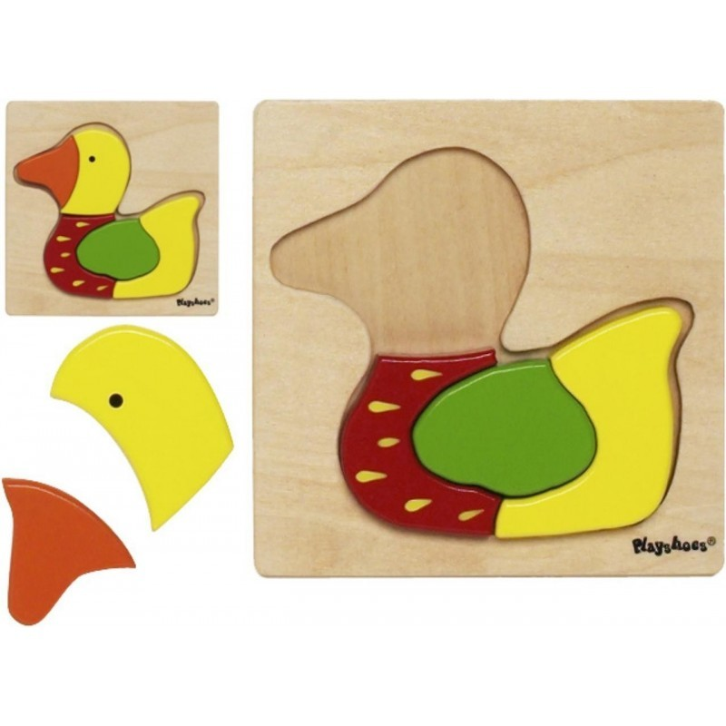 Joc puzzle din lemn Ratusca