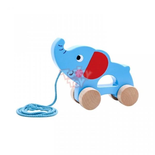 Tooky Toy Elefant de tras