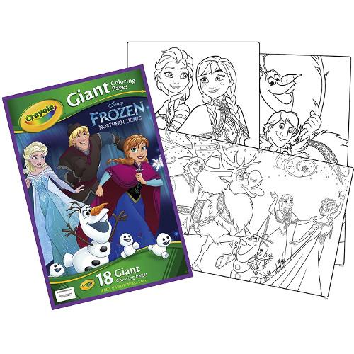 Carte de Colorat Gigant Frozen