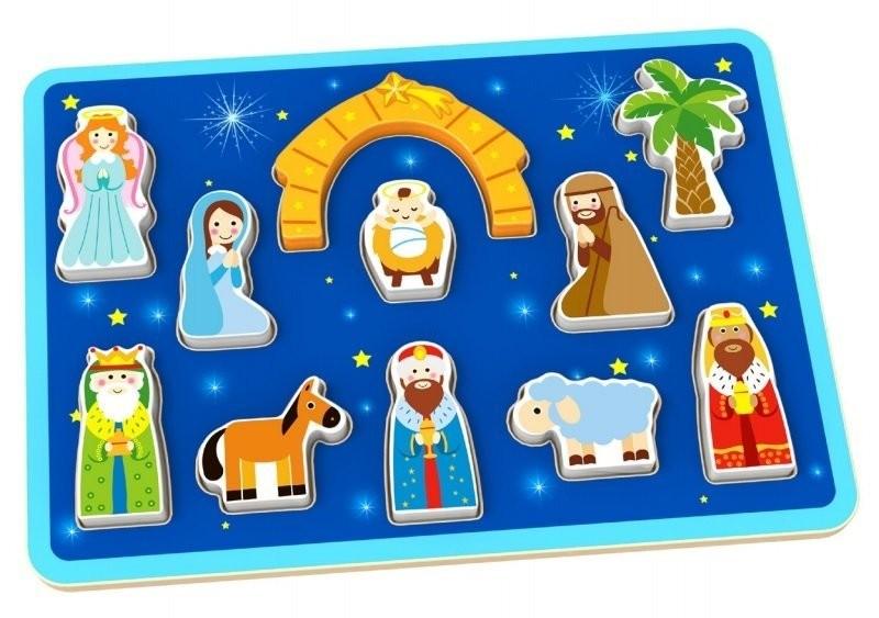 Tooky Toy Puzzle Nasterea Domnului imagine
