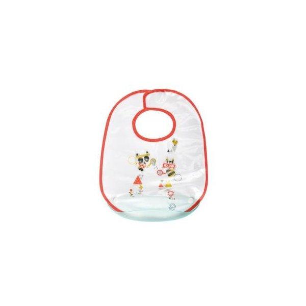 Baveta plastic cu buzunar plastic detasabil Bebe Confort