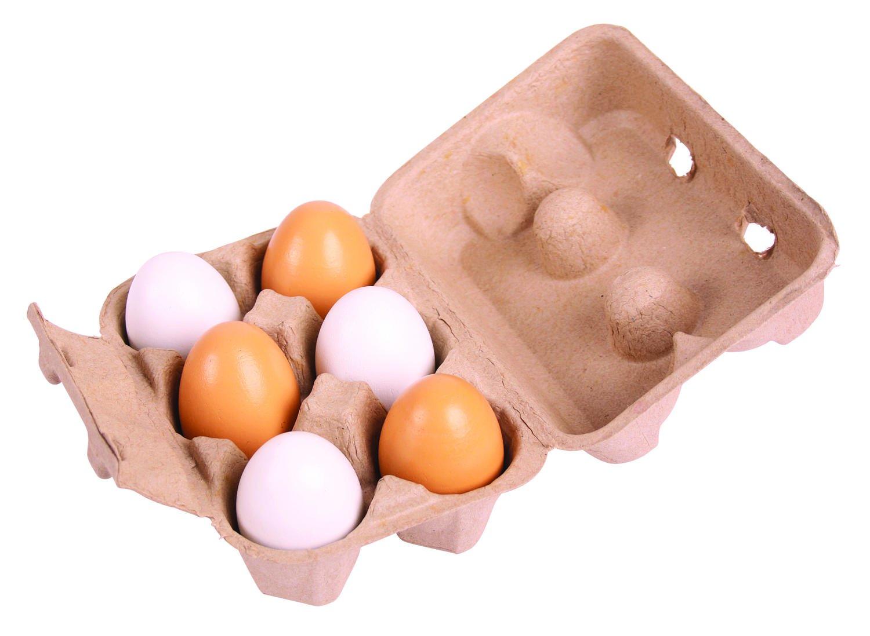 Set de 6 oua in cutie