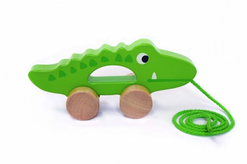 Tooky Toy Crocodil de tras