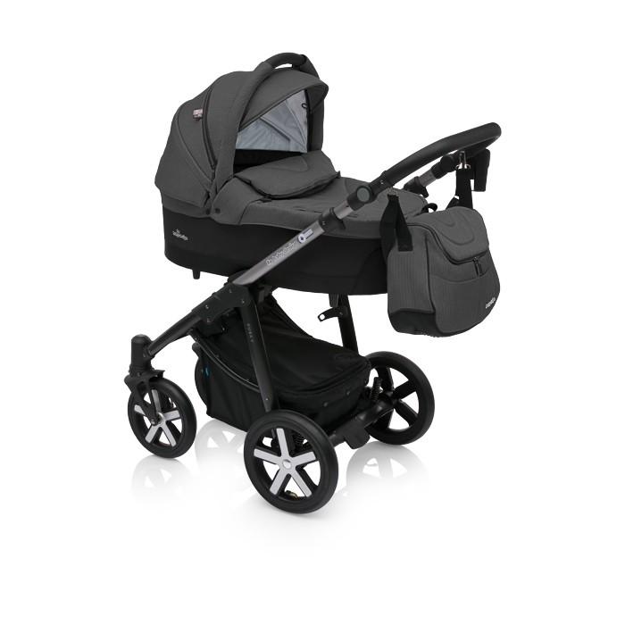 Baby Design Husky Winter Pack 10 Black 2018 - Carucior Multifunctional 2 in 1