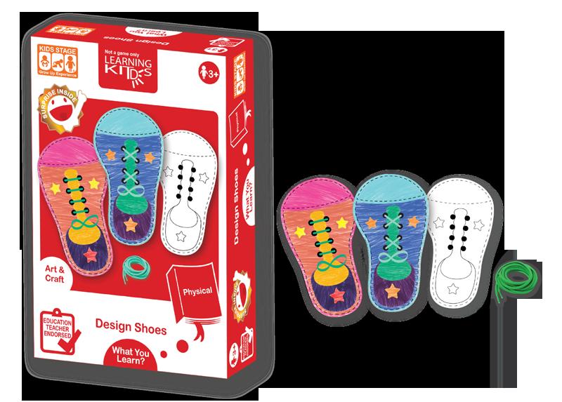 Carduri pentru snuruit - Pantofiorii colorati