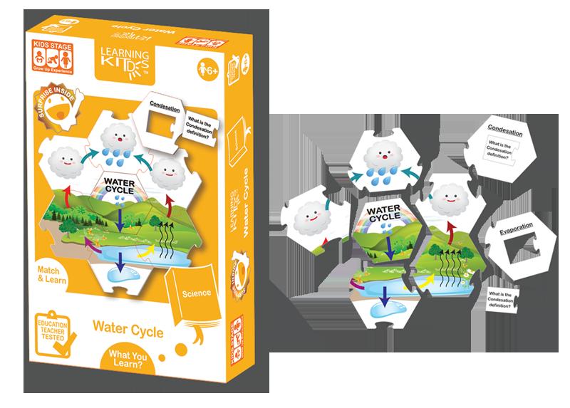 Set carduri - Circuitul apei in natura