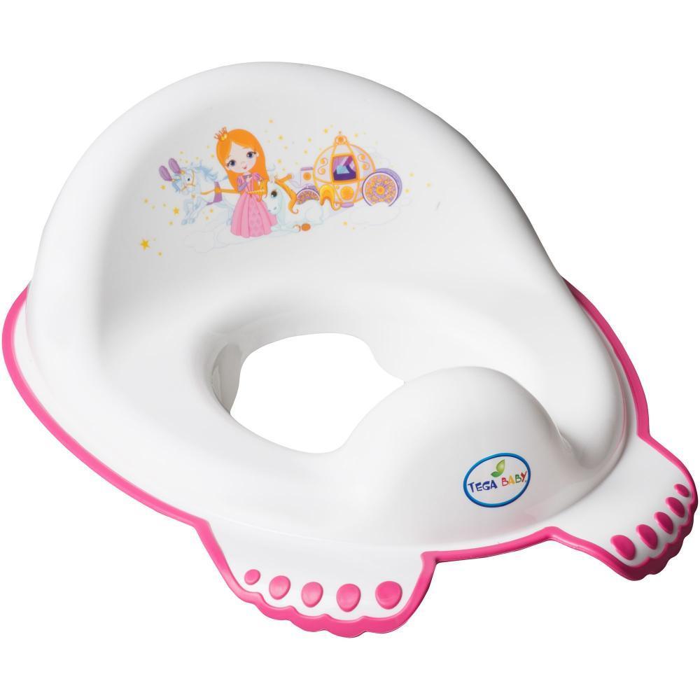 Reductor pentru toaleta Little Princess – Tega Baby – Alb