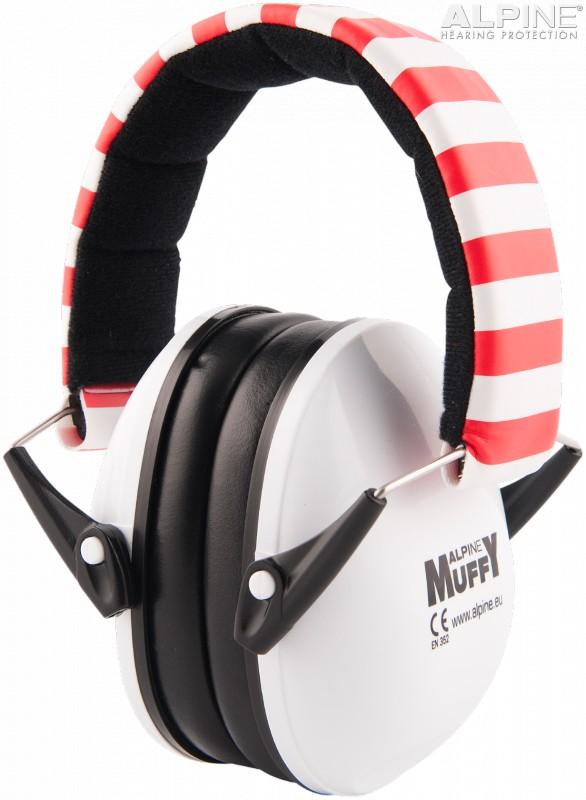 Alpine Muffy Casca impotriva zgomotului, antifon - alb
