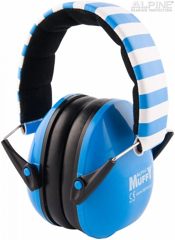 Alpine Muffy Casca impotriva zgomotului, antifon - albastru