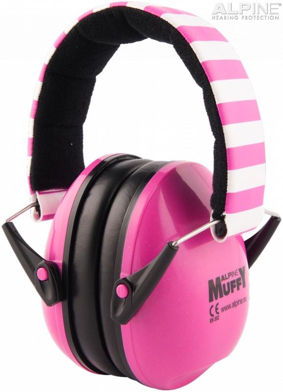 Alpine Muffy Casca impotriva zgomotului, antifon - pink