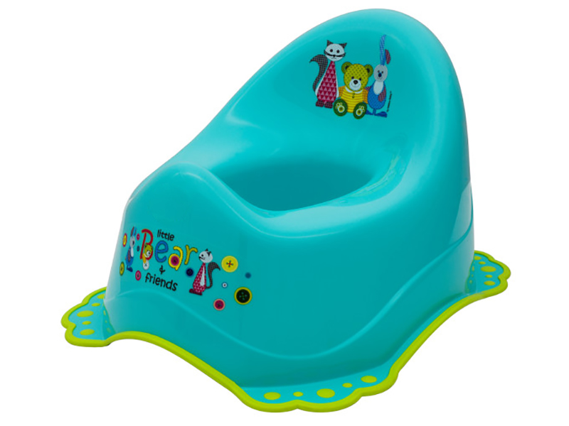Olita muzicala MyKids Little Bear and Friend sistem antialunecare Turquoise