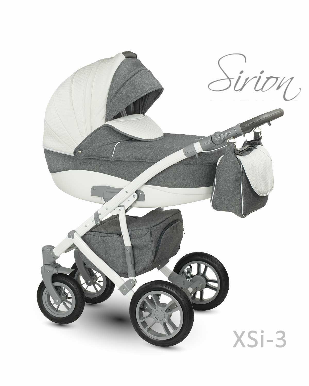 Carucior copii 3 in 1 Sirion CAMARELO COLOR XSi-3