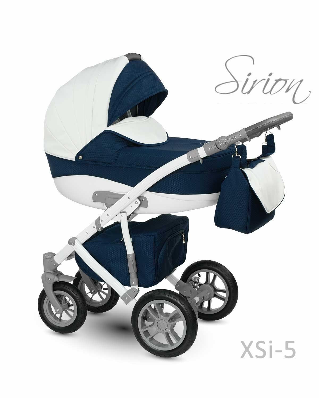Carucior copii 3 in 1 Sirion CAMARELO COLOR XSi-5