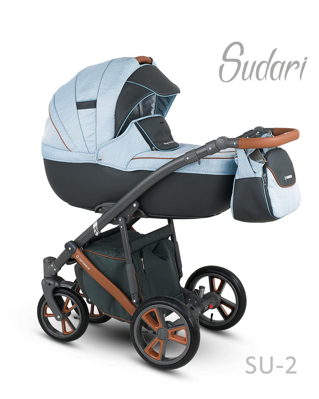 Carucior copii 2 in 1 SUDARI 2018 CAMARELO COLOR SU-2