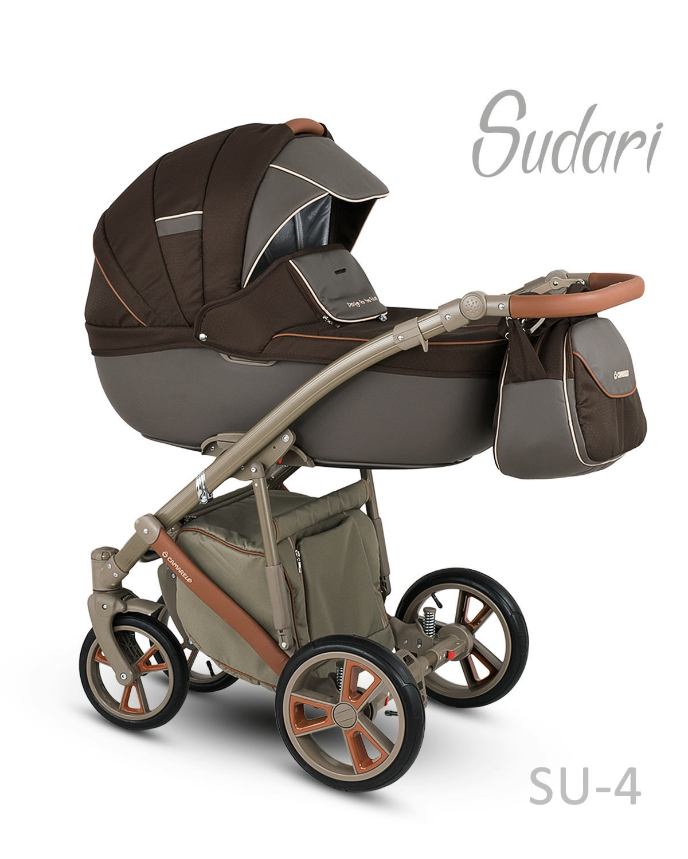 Carucior copii 3 in 1 SUDARI 2018 CAMARELO COLOR SU-4