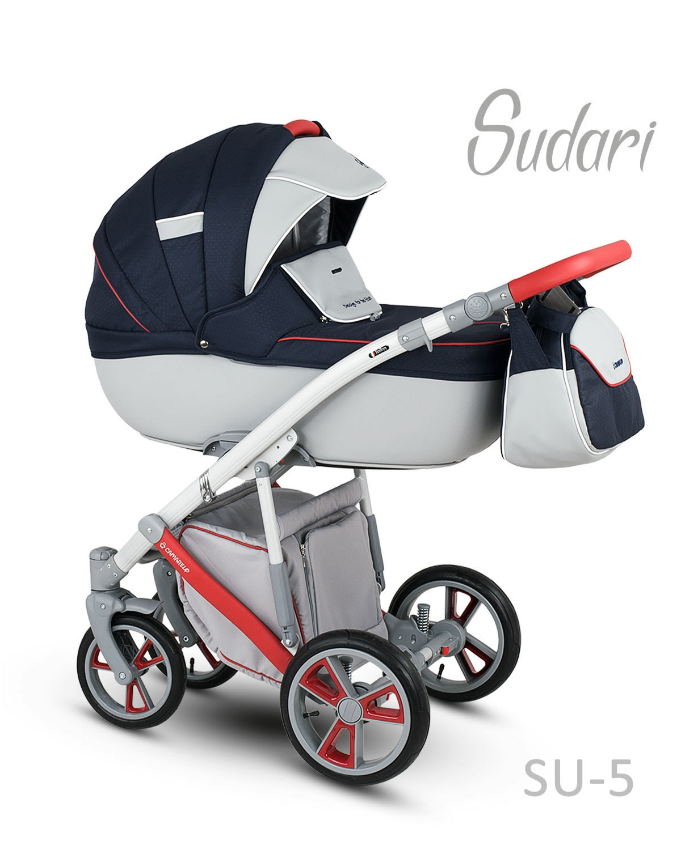 Carucior copii 3 in 1 SUDARI 2018 CAMARELO COLOR SU-5