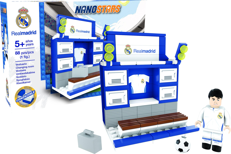 Nanostars Real Madrid vestiar imagine