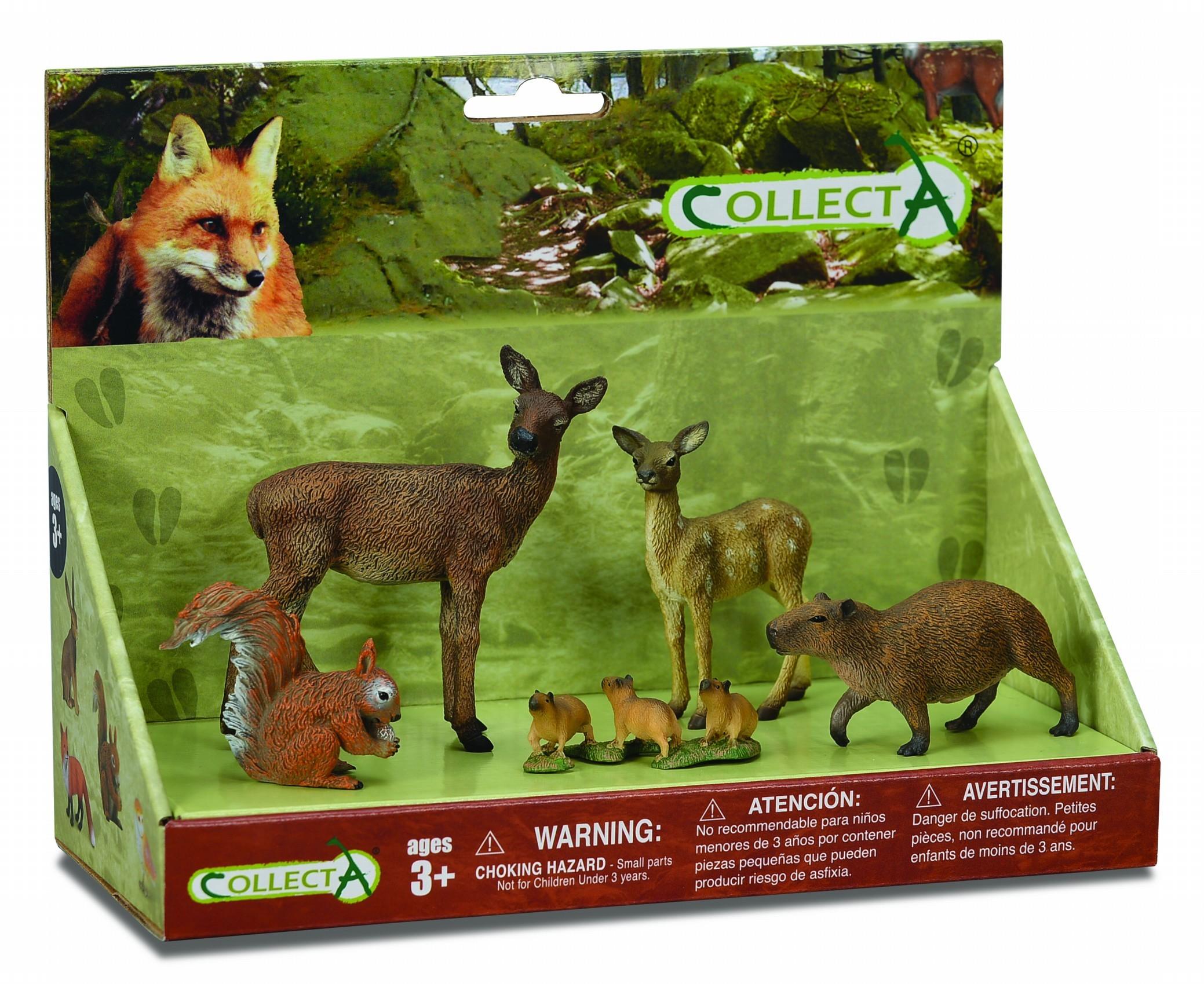 Set 5 figurine Lumea Padurii Collecta