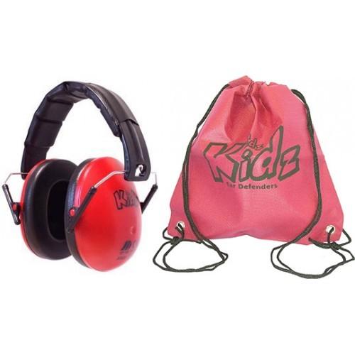 Edz Kidz Casca impotriva zgomotului, antifon - rosu