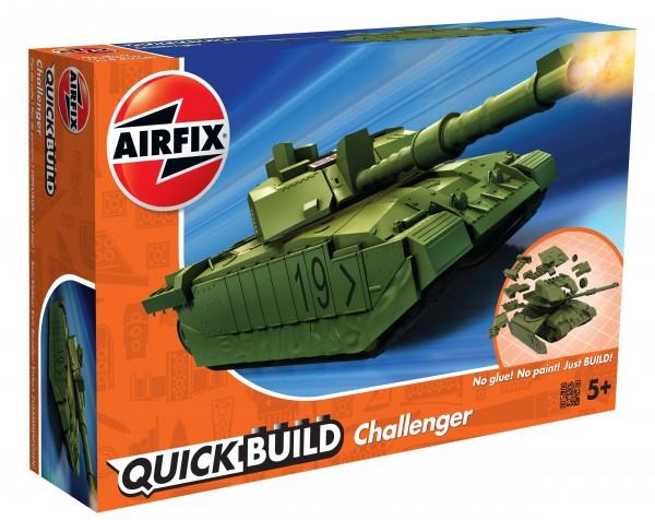 Kit constructie Airfix QUICK BUILD Challenger Tank