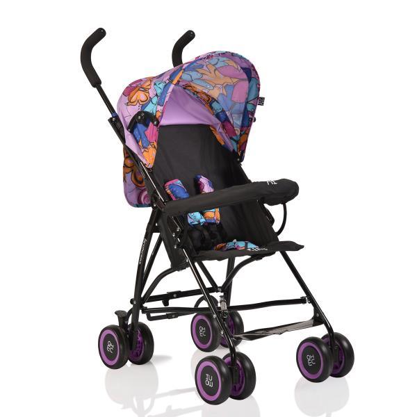 Carucior Copii Sport Moni Billy Purple Butterflies