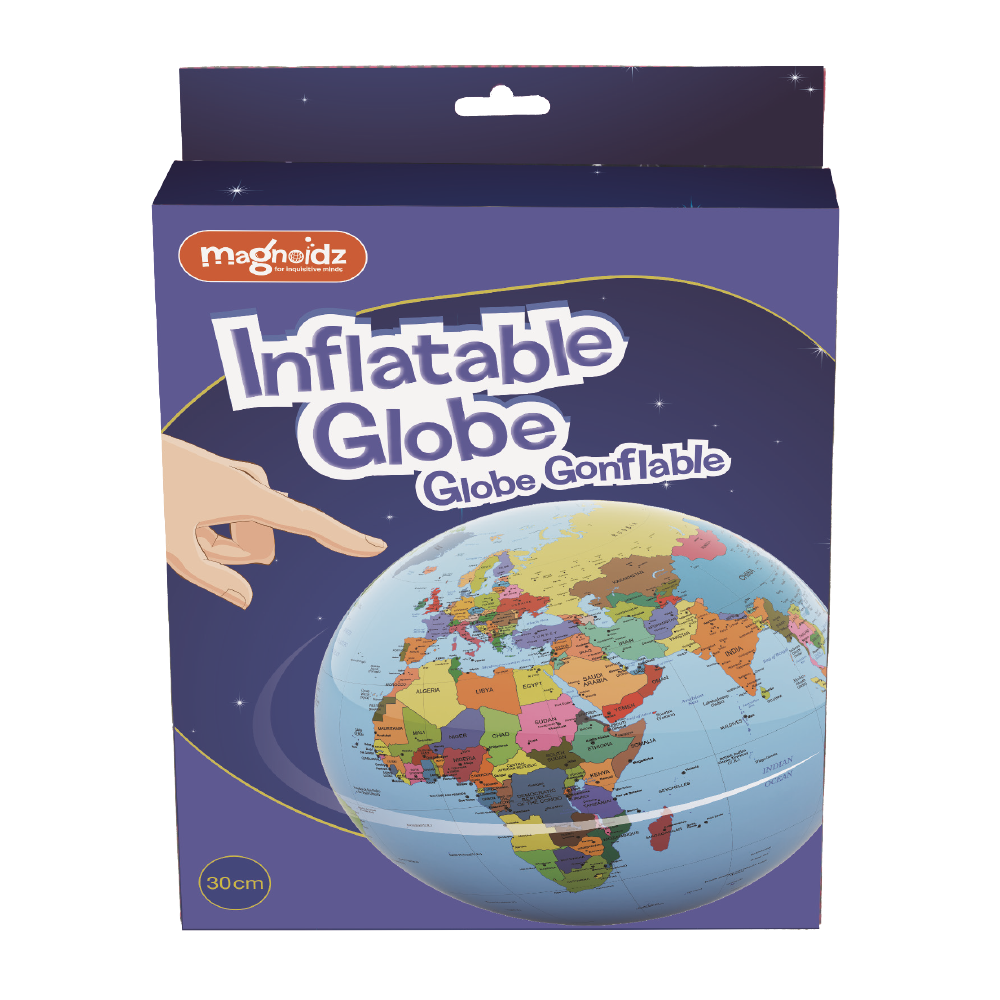 Glob pamantesc gonflabil - 21 cm