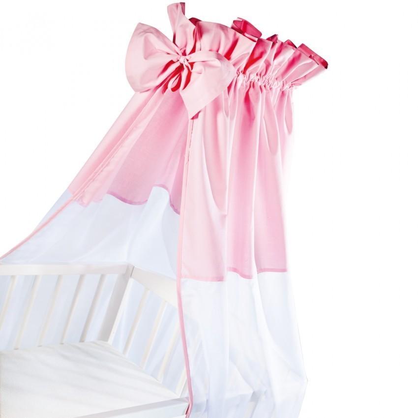 Klups Baldachin universal pentru patut - roz imagine