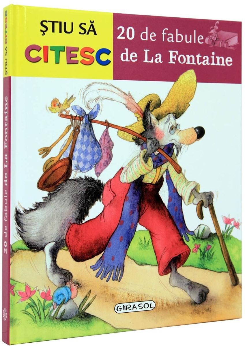 Stiu sa citesc - 20 de fabule de La Fontaine imagine