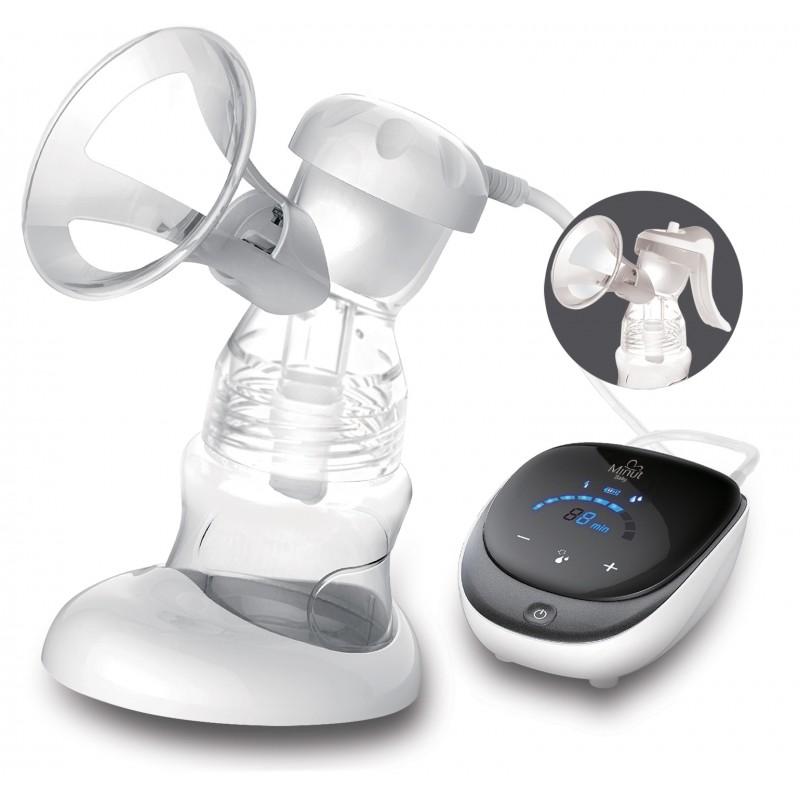 Pompa san 2 in 1 Minut Baby, electrica si manuala imagine