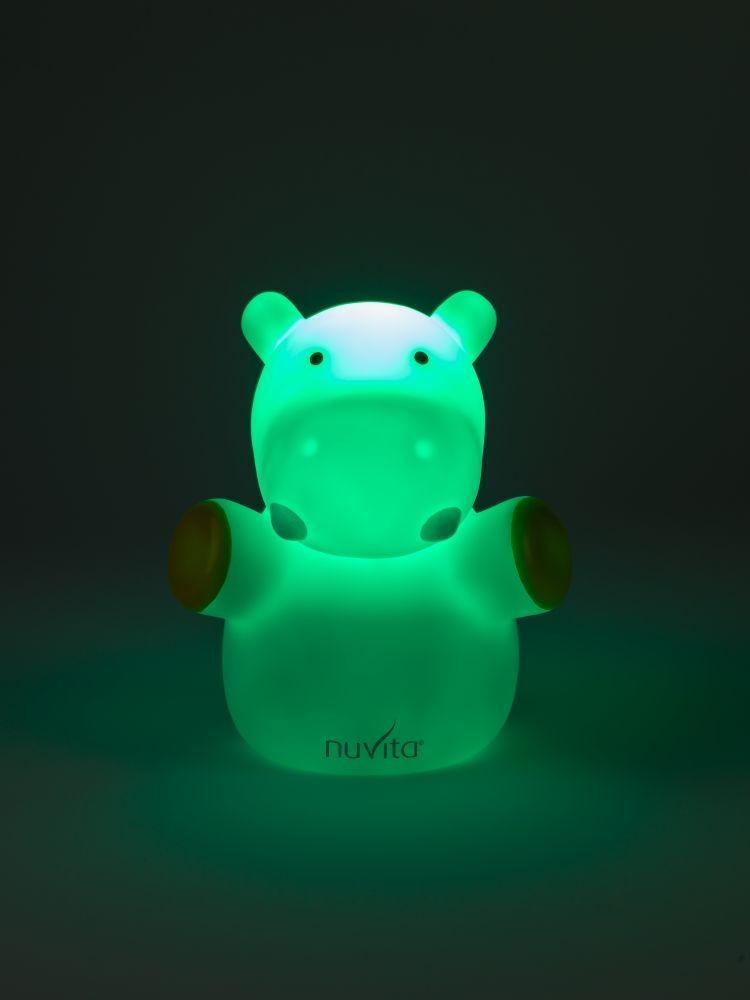 Nuvita Lampa de veghe M - Hipopotam 6607 imagine