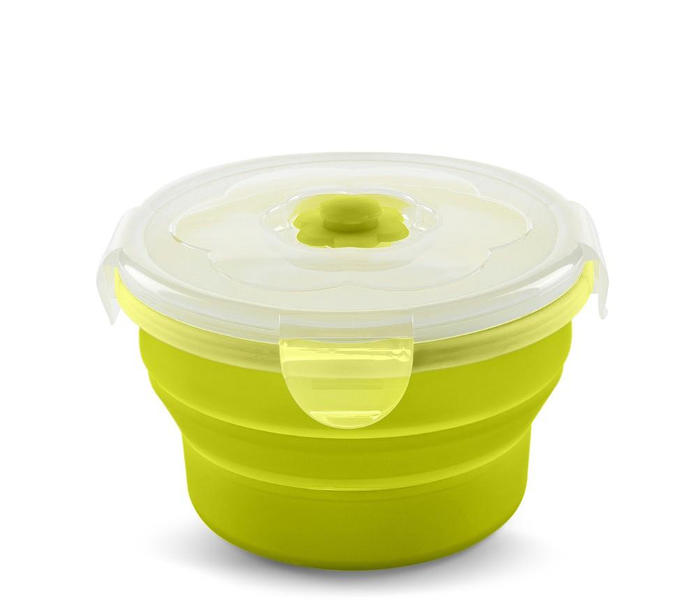 Nuvita Recipient pliabil din silicon pentru hrana 540 ml 4468 - Verde imagine
