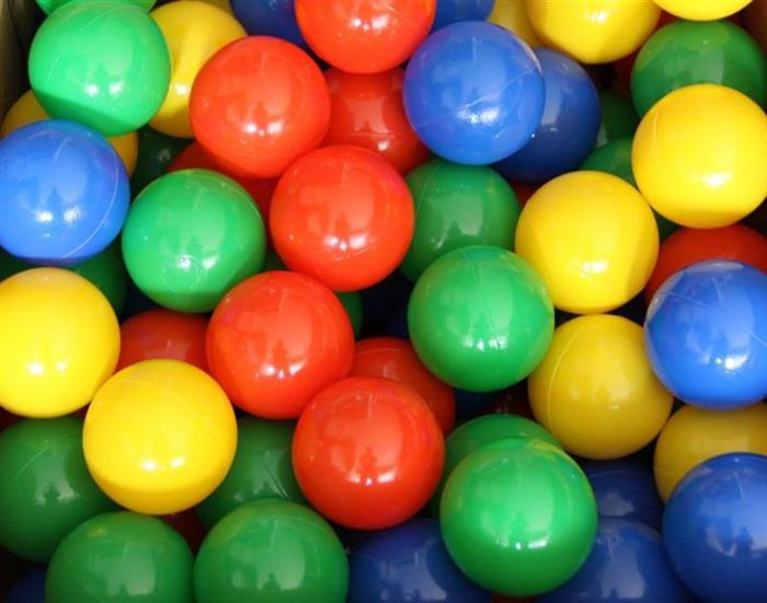Babygo-Set 100 Bile Colorate imagine