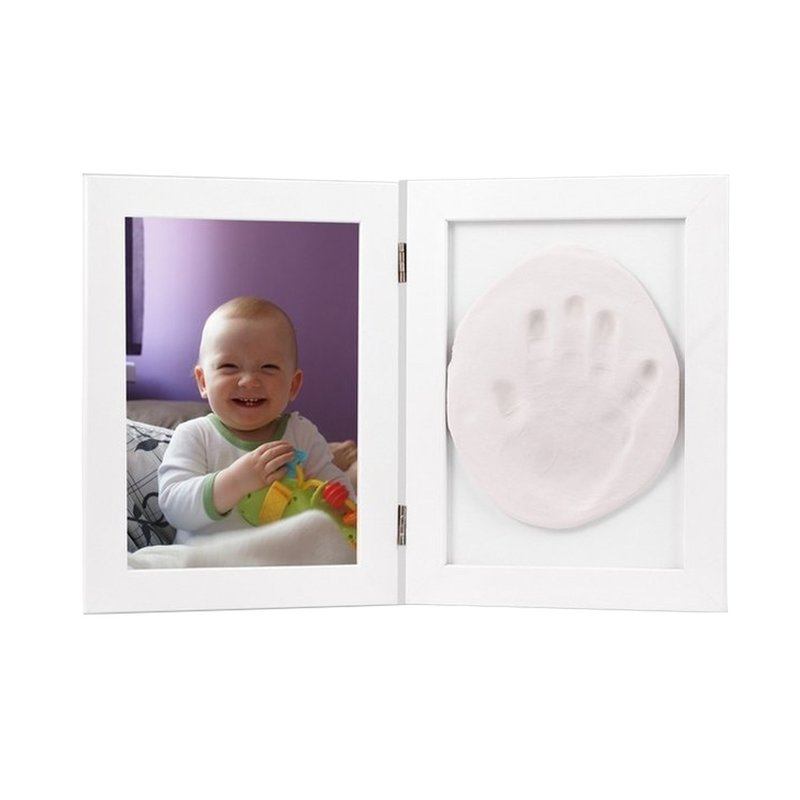 Baby HandPrint - Memory Frame White imagine