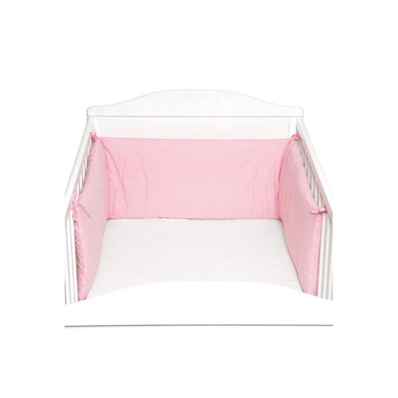 Protectie laterale pentru pat lemn Pink Fillikid