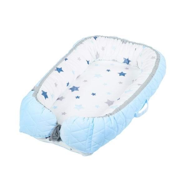 Albero Mio salteluta-cuib pentru bebelusi - blue imagine