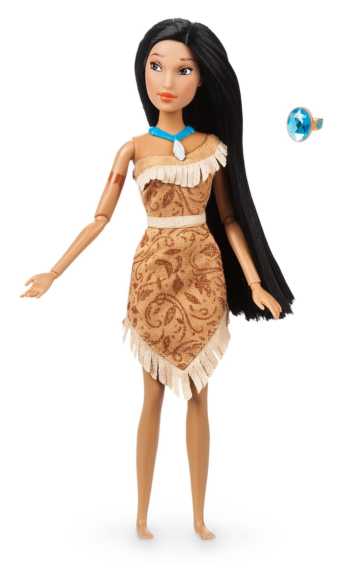 Papusa Printesa Disney Pocahontas cu inel