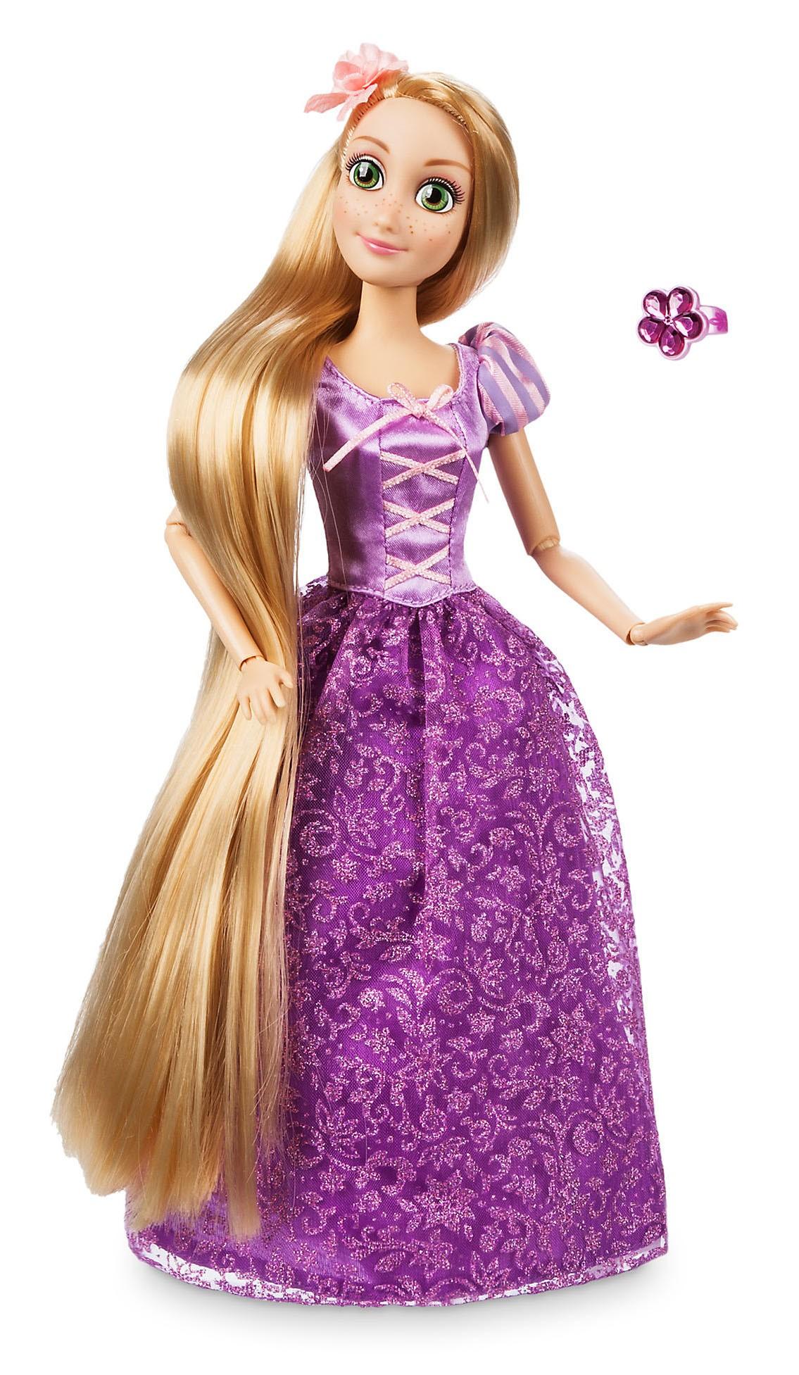 Papusa Printesa Disney Rapunzel cu inel