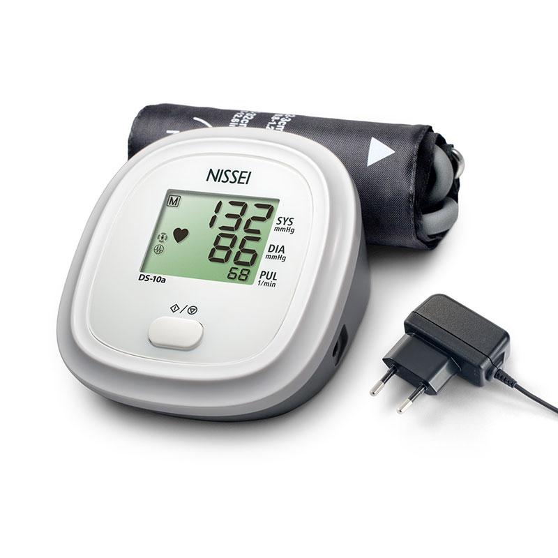 Tensiometru electronic de brat Nissei DS 10A, adaptor inclus, afisaj LCD imagine