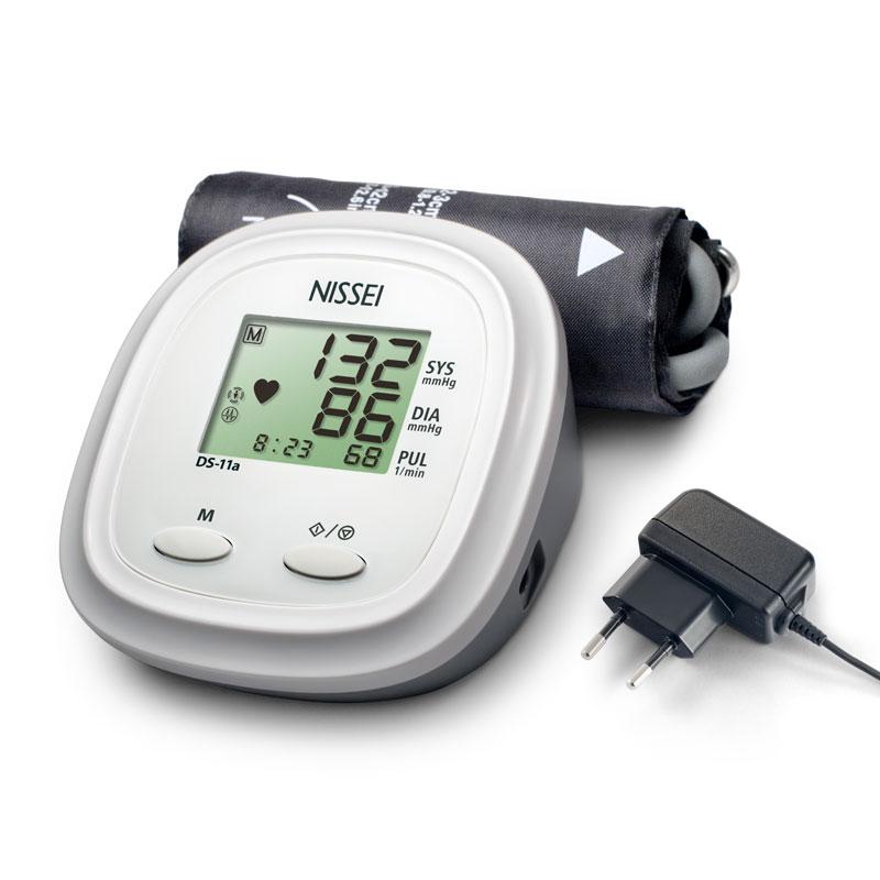 Tensiometru electronic de brat Nissei DS 11A, adaptorr inclus, memorare 60 de seturi imagine